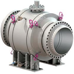 RMT Fully Welded Pipeline Ball Valve